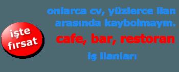 Cafe Bar Restoran elemanı